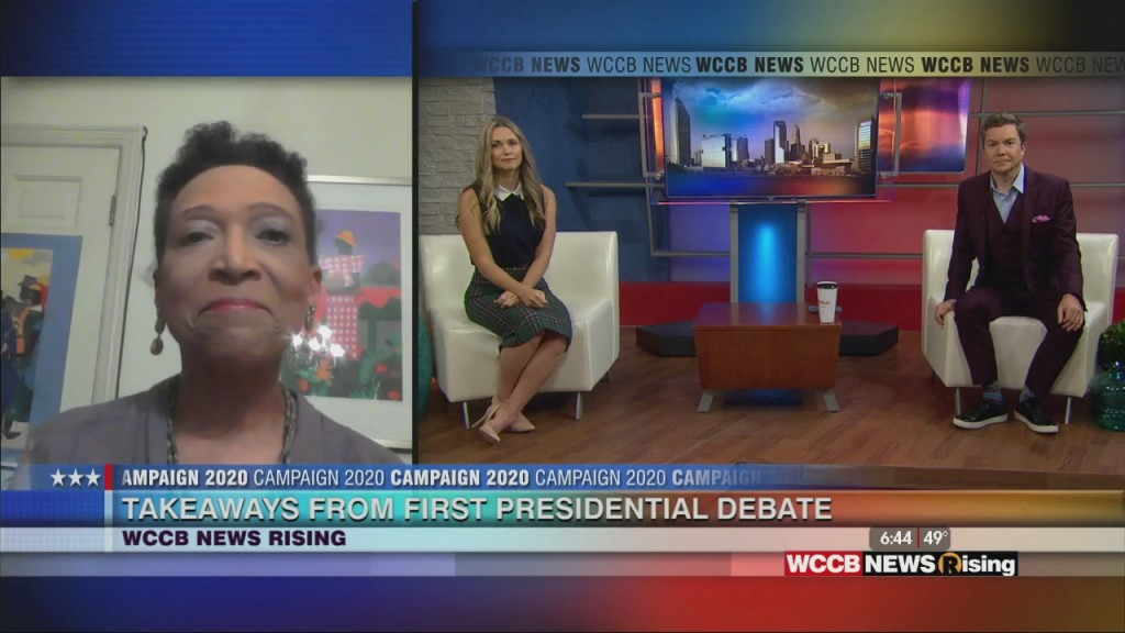Mary C. Curtis: Takeaways From First Presidential Debate