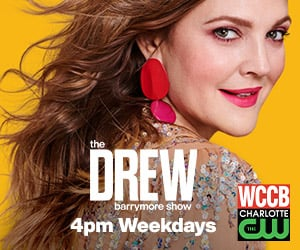 The Drew Barrymore Show 300x250 4pm Weekdays Wccb