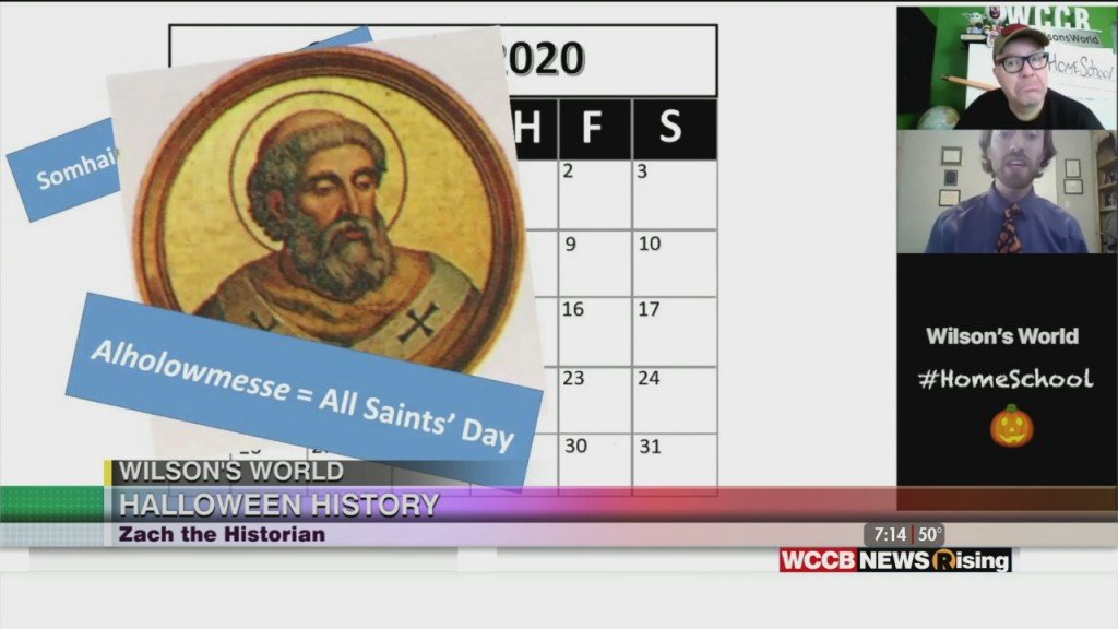 Wilson's World Homeschool: Halloween History With Zach The Historian From The Historical Center Of York County