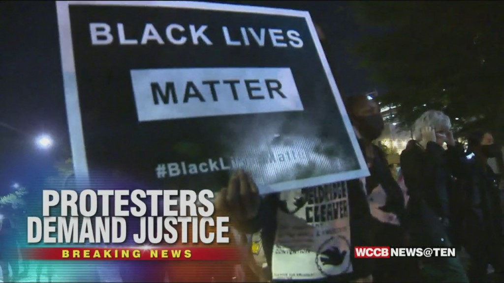 Protestors Demand Justice For Easter