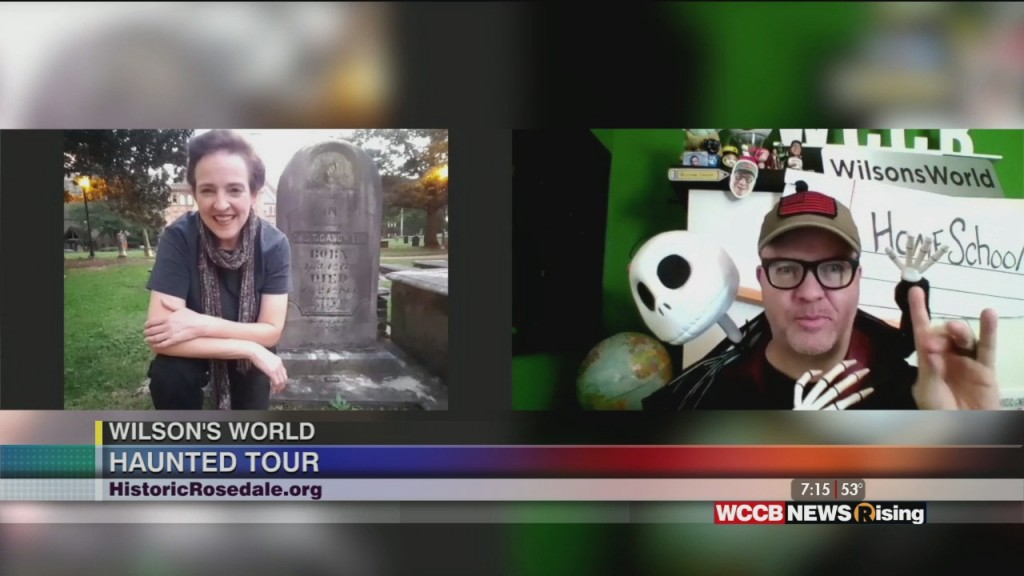 Wilson's World: Taking A Haunted History Tour Of Historic Rosedale
