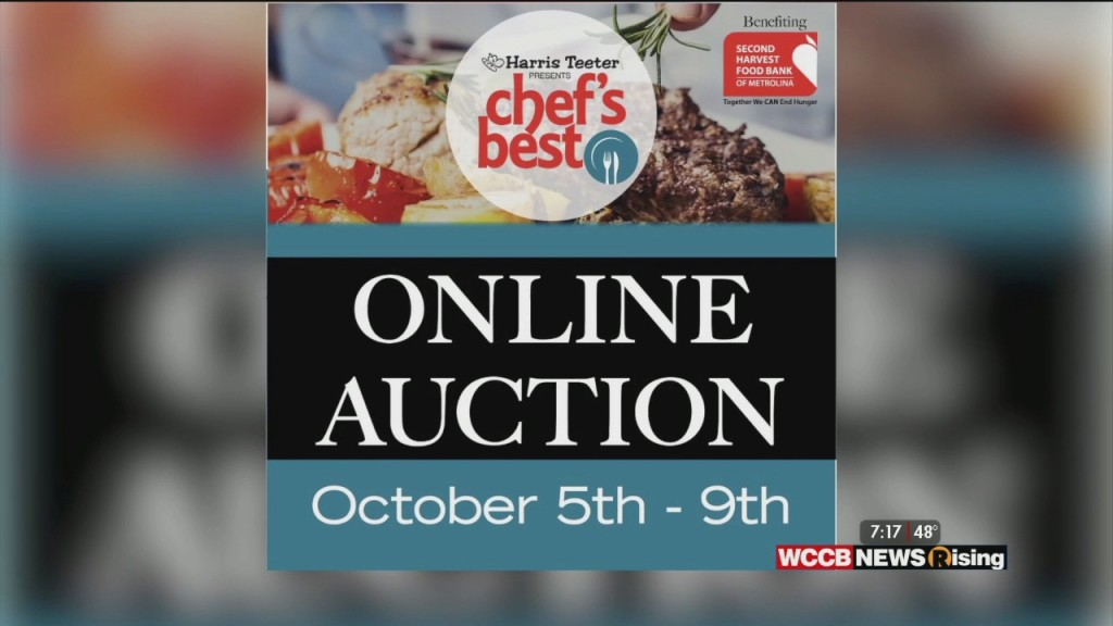 Wilson's World: Second Harvest Food Bank's Chef's Best Auction Goes Online Today