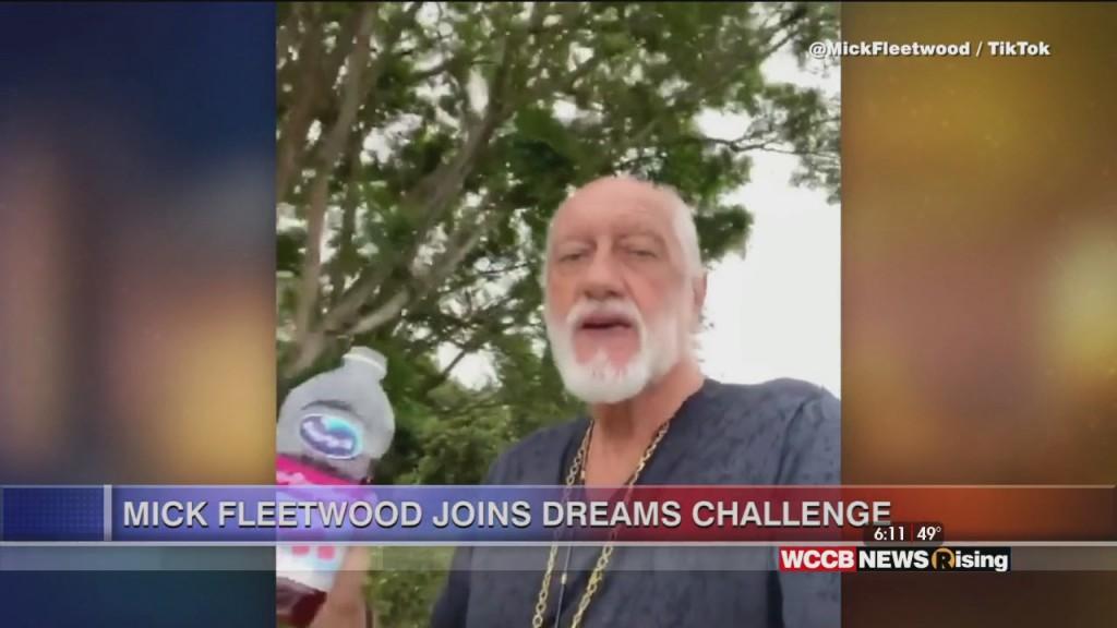 "Viral Videos: Flower Man & Mick Fleetwood Joins ""dreams"" Challenge"
