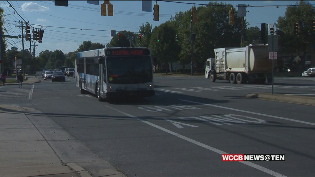 City To Test Bus Only Lane On Central Avenue In Plaza Midwood