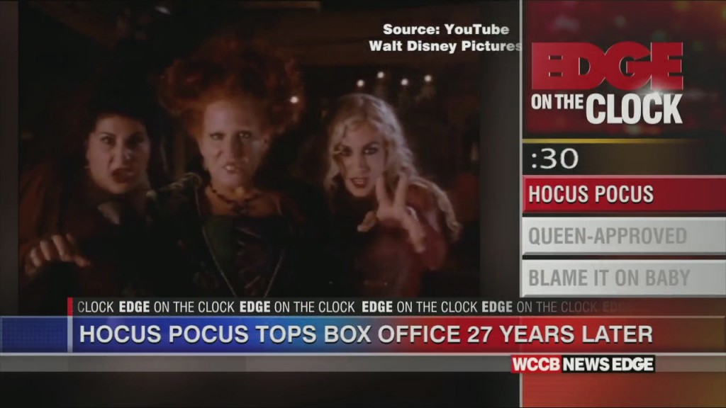 "Edge On The Clock: ""hocus Pocus"" Still Draws An Audience, 27 Years Later"