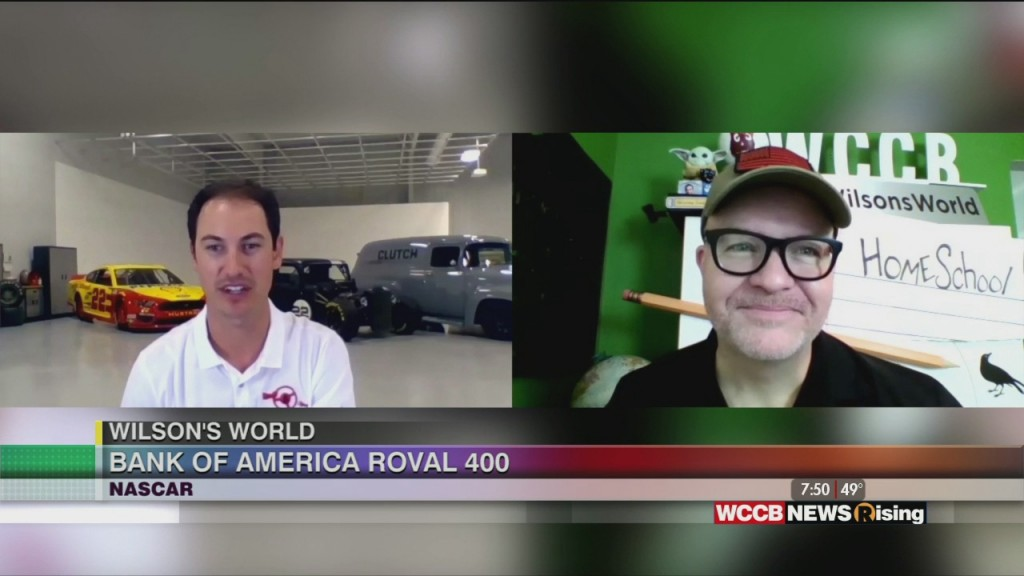 Wilson's World: Previewing This Weekend's Bank Of America Roval 400 With Nascar Driver Joey Logano