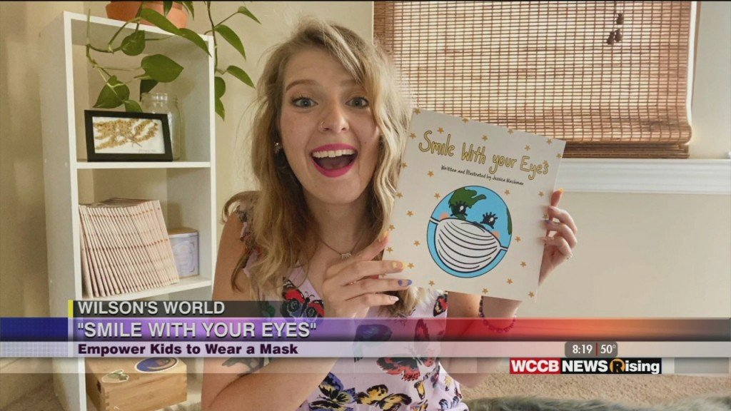 "Wilson's World Homeshool: Talking With Local Author Jessica Wachman About Her Book ""smile With Your Eyes"""