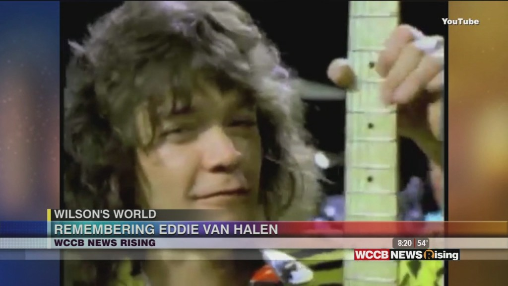 Wilson's World: Talking About The Life And Legacy Of Iconic Guitarist Eddie Van Halen