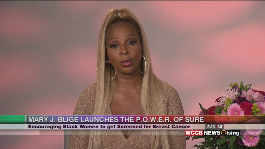Mary J. Blige Launches The P.o.w.e.r. Of Sure Campaign