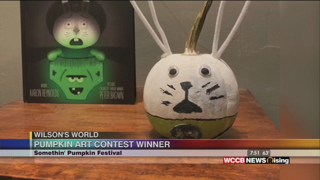 Wilson's World: Congratulating The Winners Of The Somethin' Pumpkin Festival In Gastonia