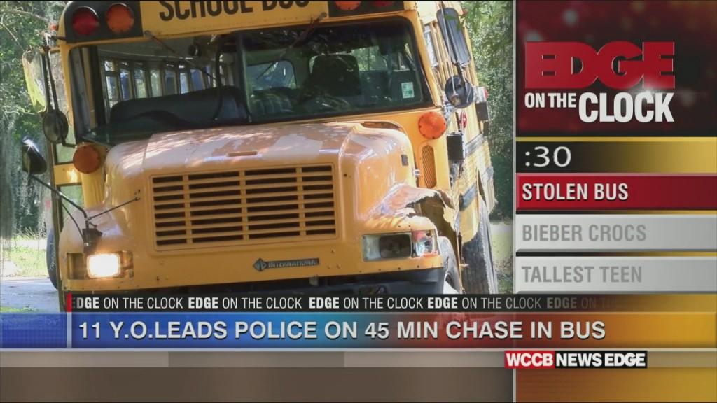 Boy Steals Bus