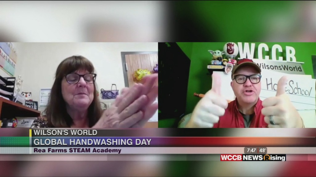 Wilson's World Homeschool: Cleaning Up For Global Handwashing Day