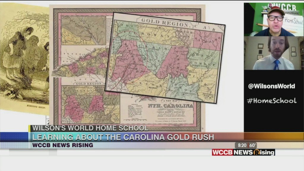 Wilson's World Homeschool: The Haunting History Of The Gold Mines In Charlotte