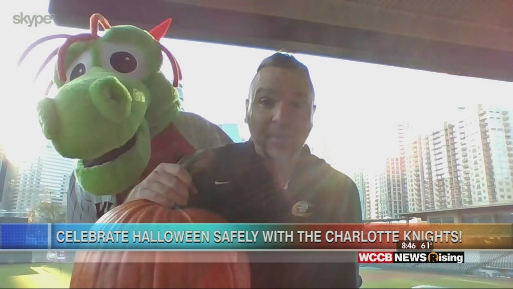 Pick Your Pumpkin With The Charlotte Knights