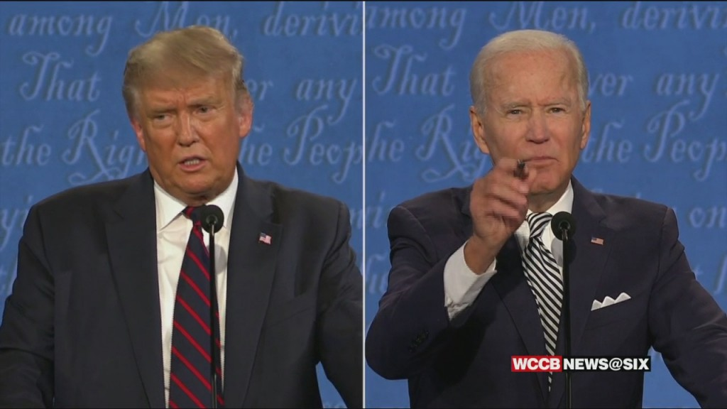 Political Wrap: Candidates In Nc; Final Debate