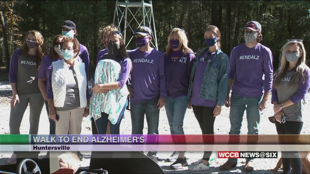 Nascar's Ryan Blaney Walks To End Alzheimer's