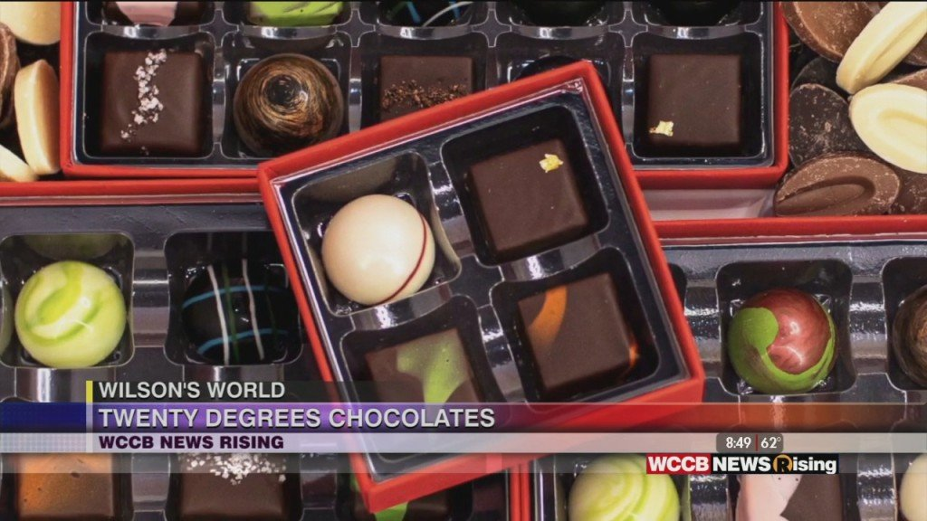 Wilson's World: Enjoying Artisan Chocolates From Twenty Degrees Chocolates In South End
