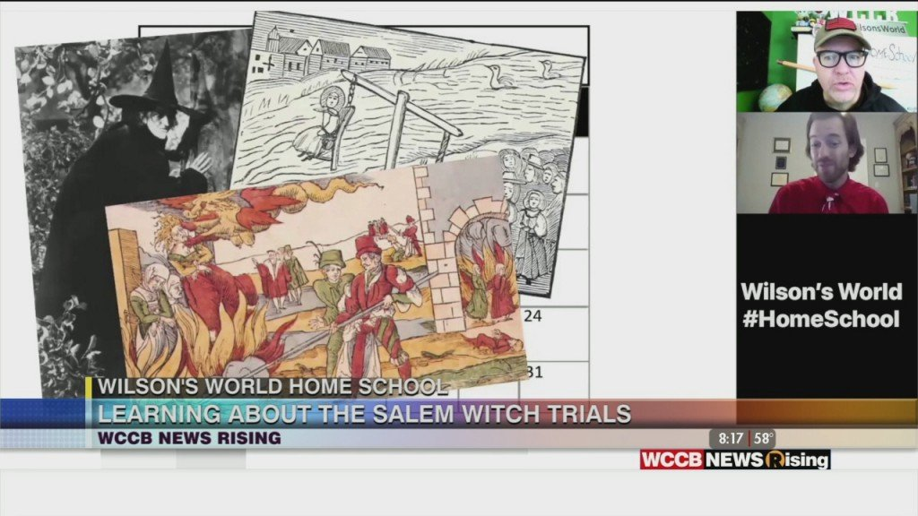 Wilson's World Homeschool: Hocus Pocus...it's The Story Of The Salem Witches With Zach The Historian
