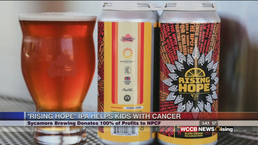 Sycamore Brewing's Rising Hope Raises Money To Fight Pediatric Cancer