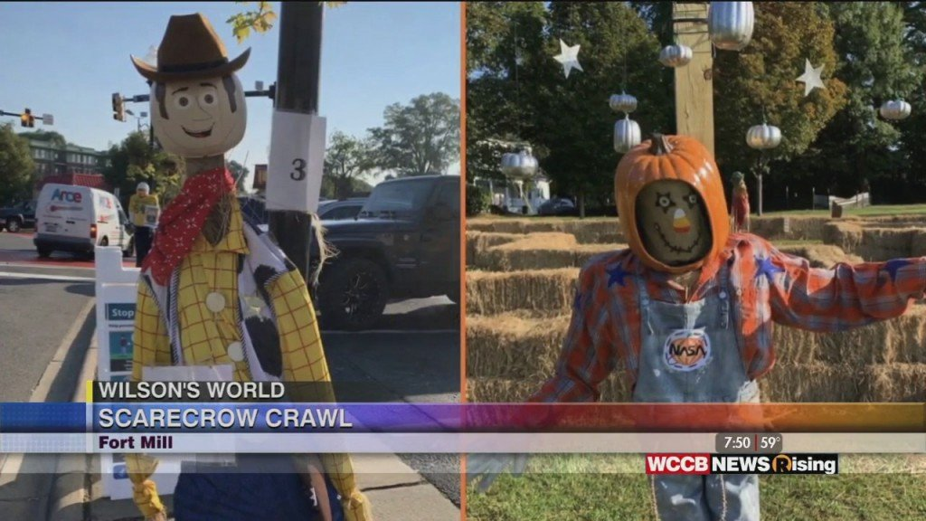 Wilson's World: Halloween Fun In Ft. Mill At The Scarecrow Crawl