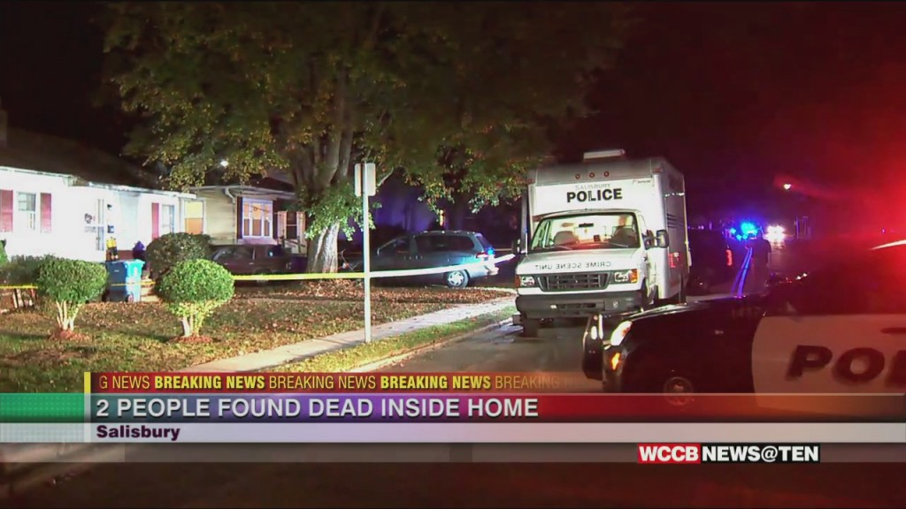 Double Homicide Investigation Underway In Salisbury