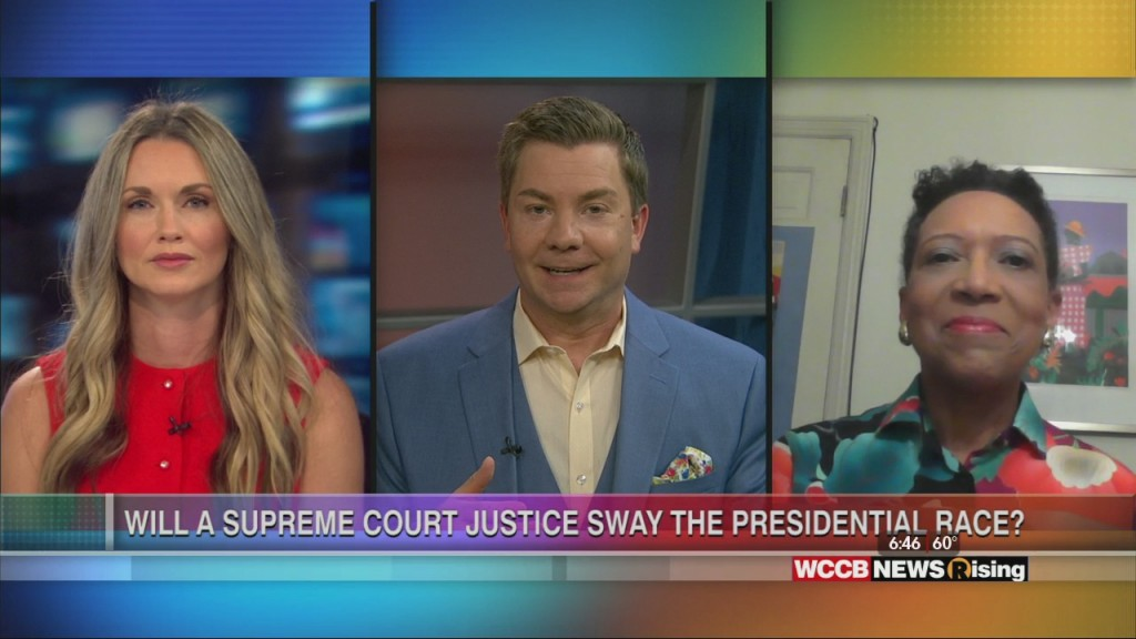 Mary C. Curtis: Will A Supreme Court Justice Sway The Presidential Race?