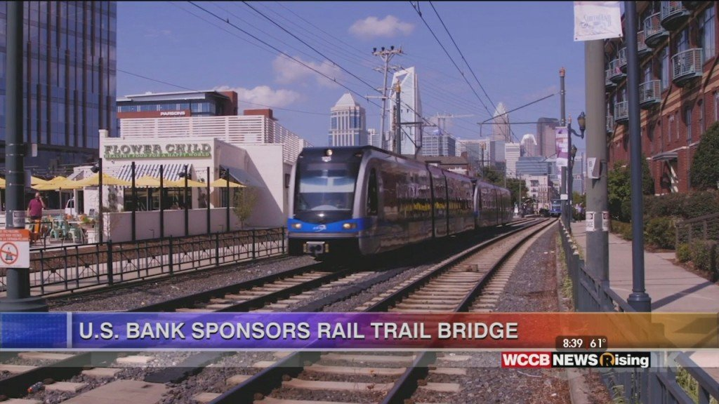 Rising Spotlight: U.s. Bank Sponsors Rail Trail Bridge In Charlotte