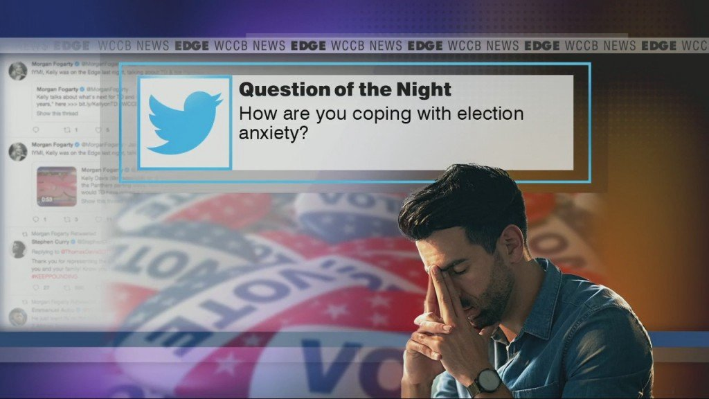 How Ar Eyou Coping With Election Anxiety?