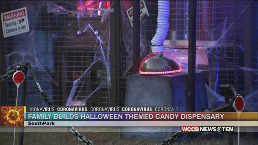 Southpark Family Builds Halloween Themed Candy Dispensary