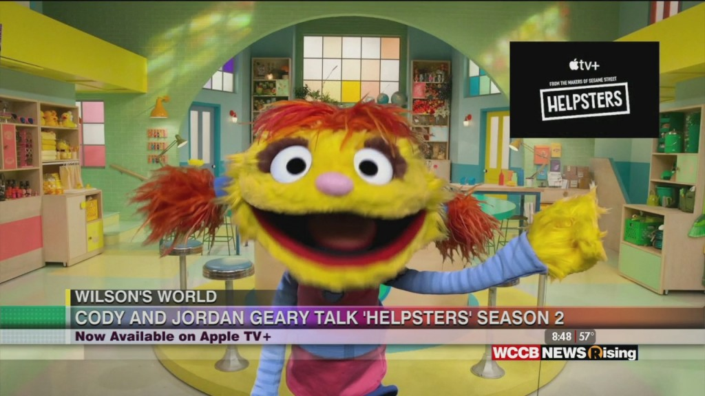 """Wilson's World: Wilson Is Joined By Jordan Geary And Cody From The Apple Tv Show """"helpsters"""""""
