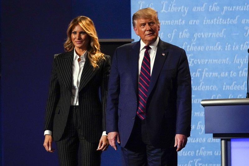 Donald And Melania Trump Ap 01
