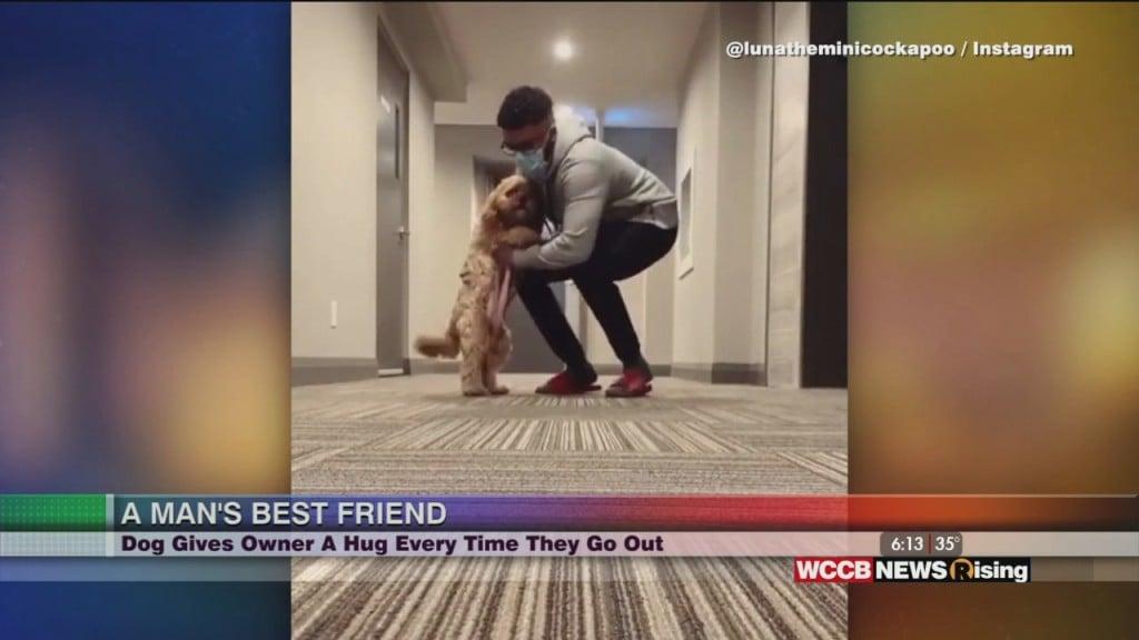 Viral Videos: Sc Officer Makes Tiktok Video & Dog Hugs Owner