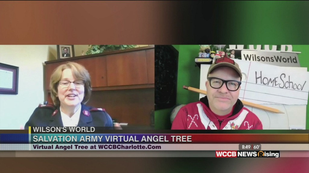 Wilson's World: Kicking Off The 2020 Wccb Charlotte's Cw And Salvation Army Virtual Angel Tree Campaign