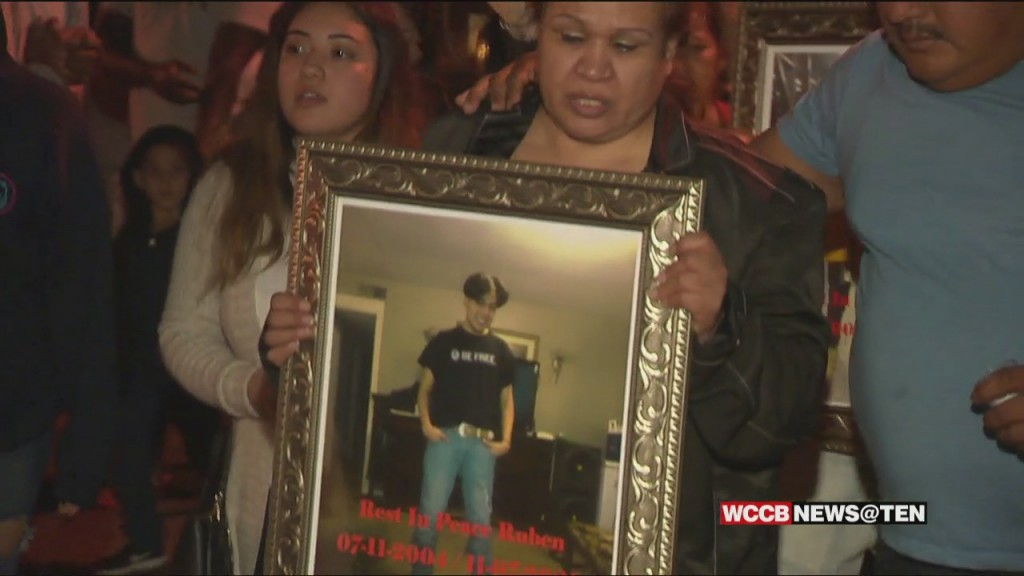 Vigil For 16 Year Old Shot And Killed Over The Weekend