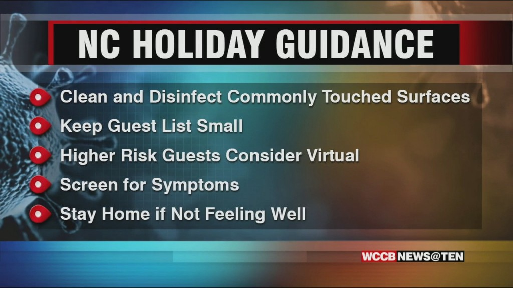 North Carolina Releases Covid 19 Guidance For Thanksgiving Holiday