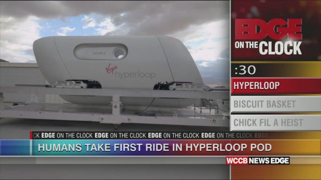 First Hyperloop Pods