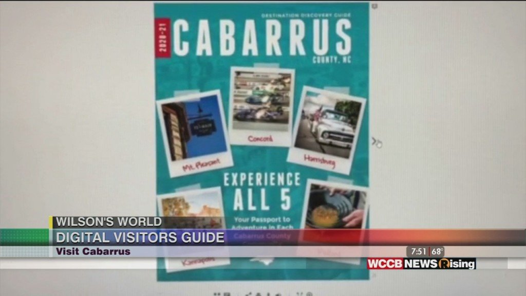 Wilson's World: Flipping Through The Digital Pages Of The Cabarrus County Destination Discovery Guide