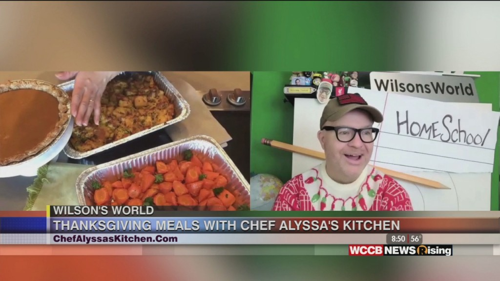Wilson's World: Chef Alyssa Wants To Help With Thanksgiving!