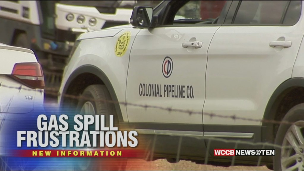 Huntersville Gas Pipeline Spill Now In Excess Of 330,000 Gallons