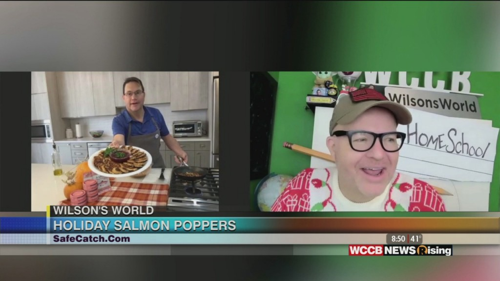 Wilson's World: Preparting Holiday Salmon Poppers With Safe Catch