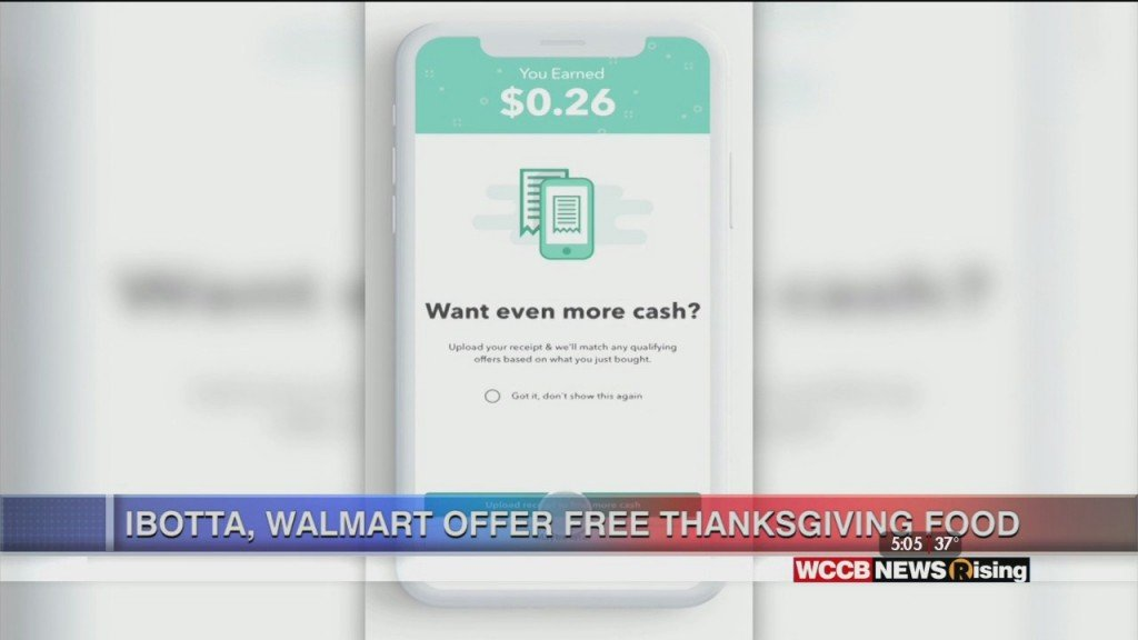Walmart Teams Up With Ibotta For Thanksgiving Promotion