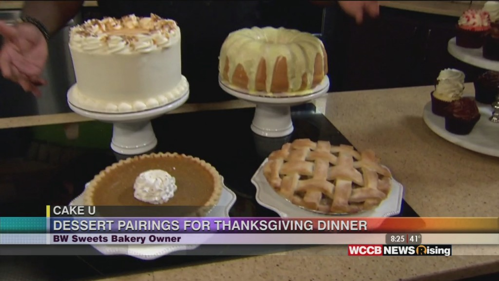 Cake U: Dessert Pairings For Thanksgiving Dinner With Bw Sweets Bakery