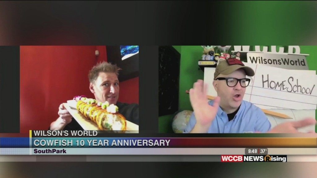 Wilson's World: Celebrating The 10th Anniversary Of The Cowfish Sushi Burger Bar At Southpark