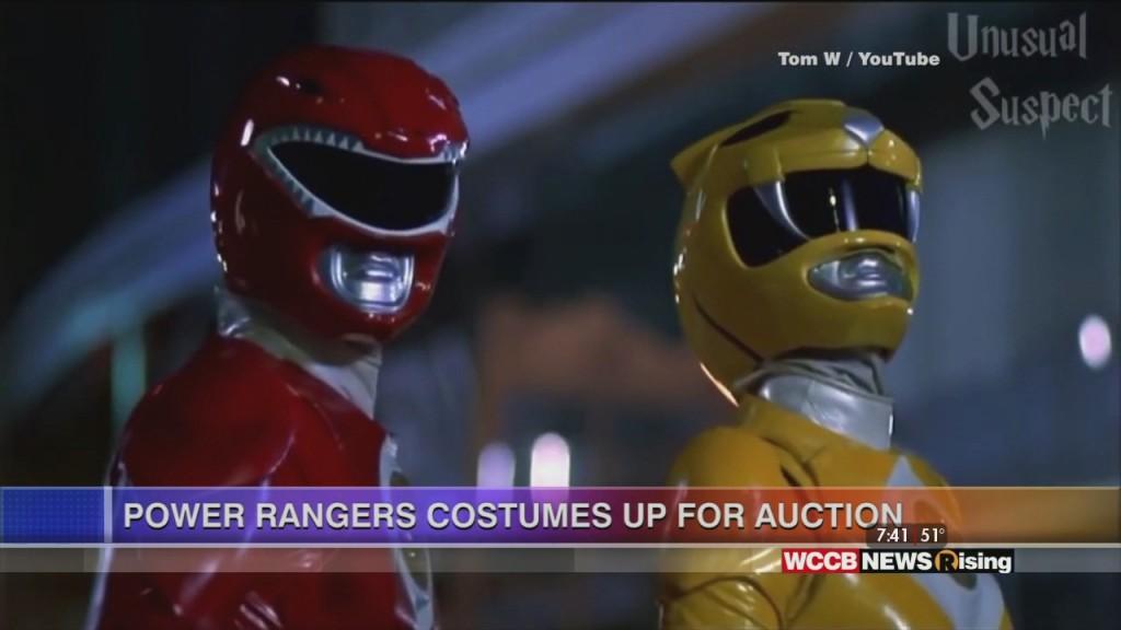 Power Rangers Auction