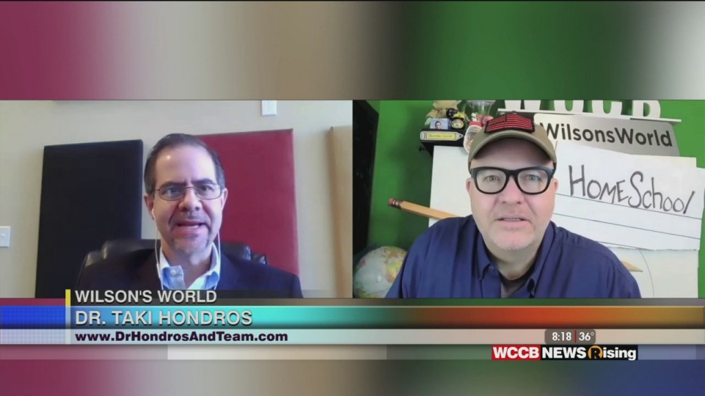 Wilson's World: Dr. Taki Hondros Talks Healthcare And Covid Safety During And After The Holidays