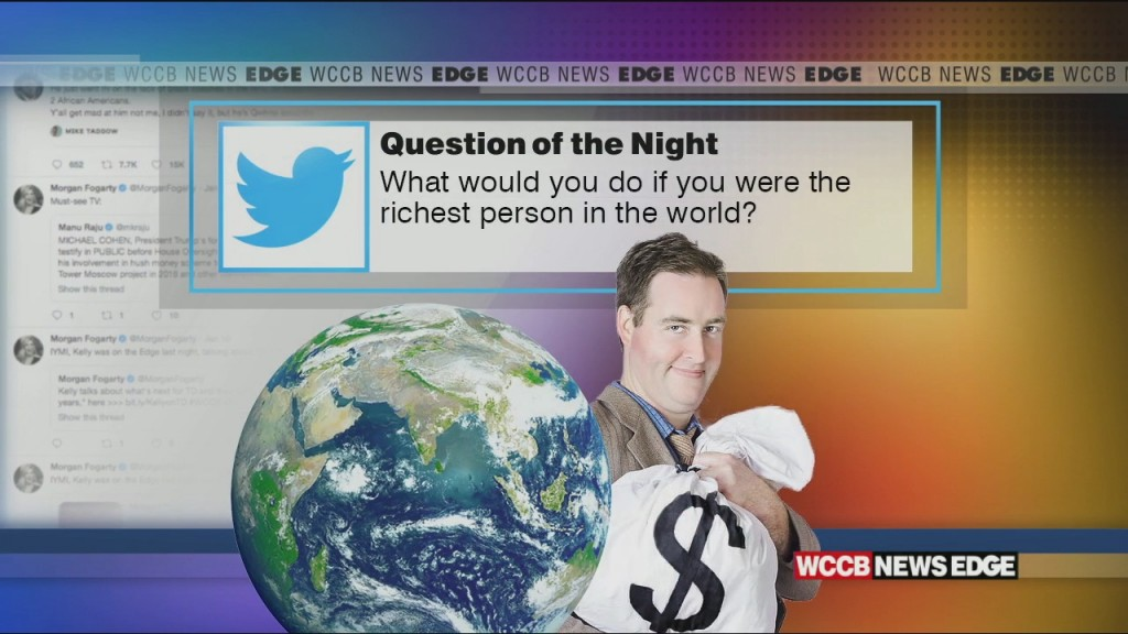 What Would You Do If You Were The Richest Man In The World?