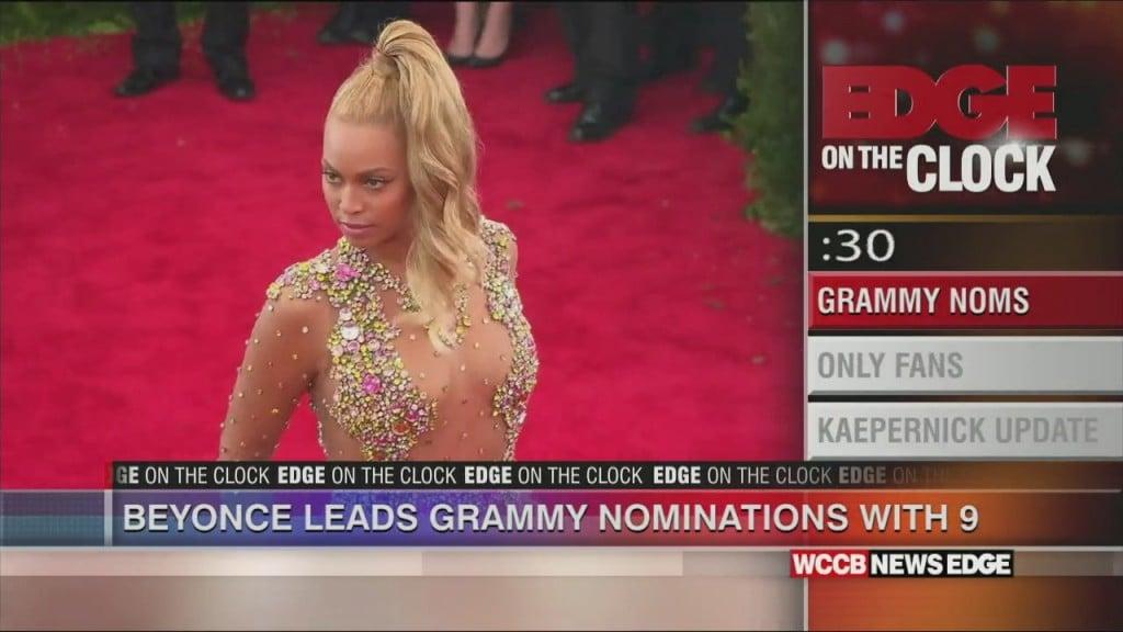 Beyonce Leads Grammy Nods