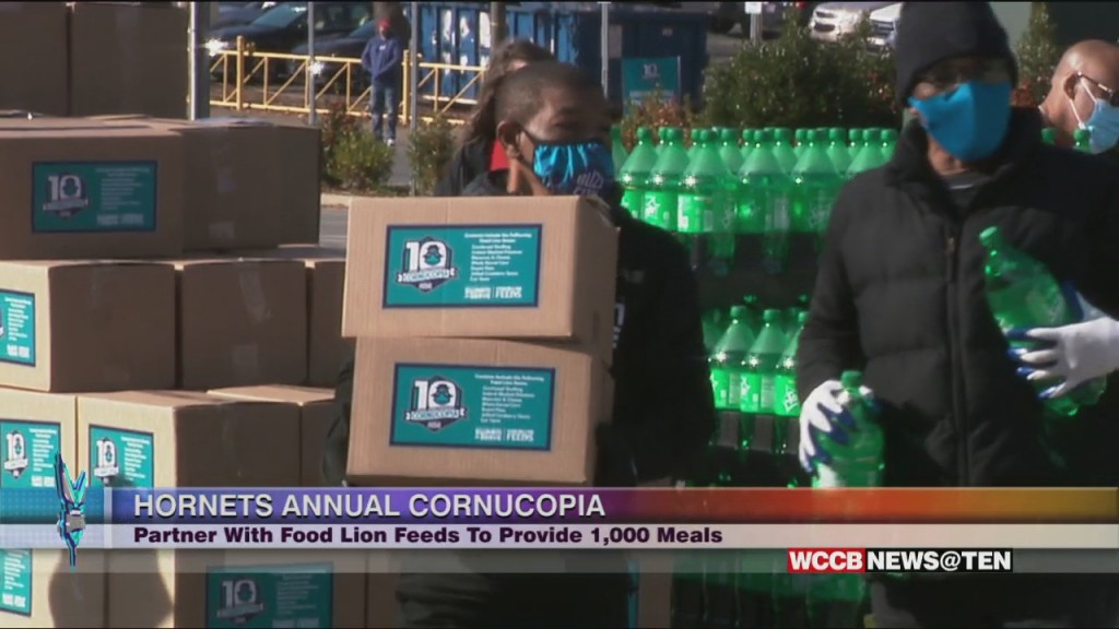 Hornets Hold 10th Annual Cornucopia Event