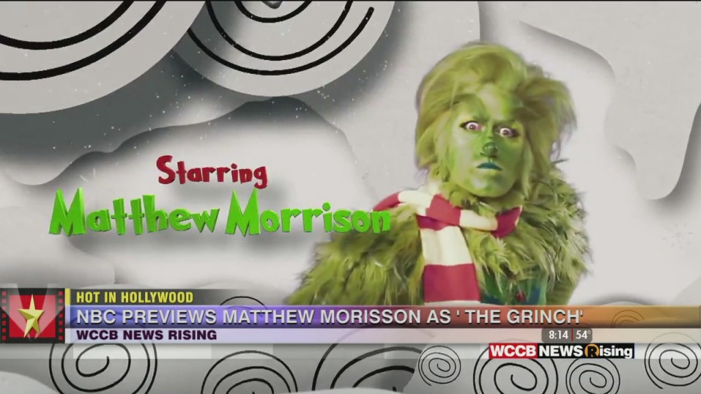 Hot In Hollywood: First Look At Matthew Morrison As 'the Grinch' And Matthew Perry Gets Engaged!