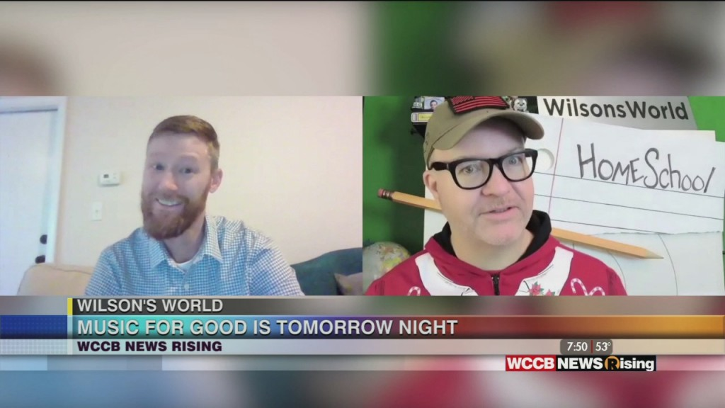 Wilson's World Previews Music For Good, Benefiting The Salvation Army Angel Tree